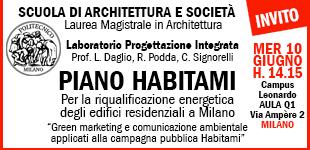 Habitami invitato al Politecnico di Milano