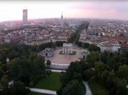 Milano dall'alto a volo di drone