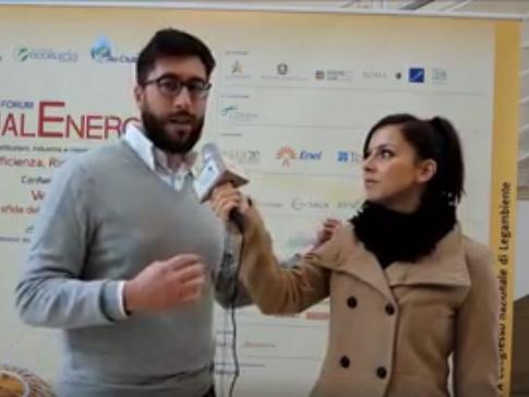 Forum QualEnergia 2015, Giorgia Burzachechi intervista Fabio Passoni Habitami