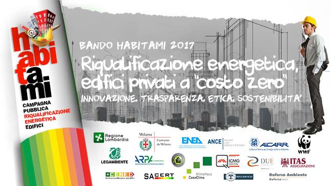 Il Bando Habitami 2017/2018 per l'efficienza energetica degli edifici in Italia