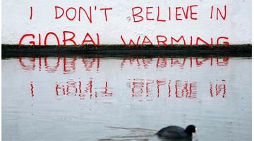 Bansky, global warming