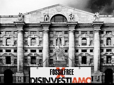 Fossil Free, disinvestire dalle fossili