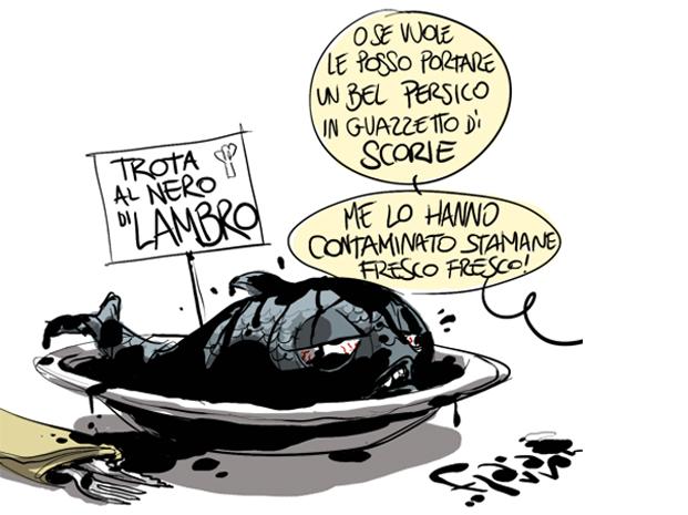 Agli italiani piace pasticciare…