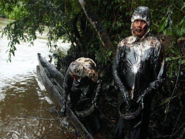 Petrolio nel Rio delle Amazzoni