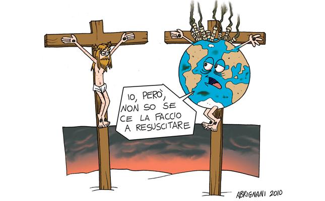 Vignetta Ambiente effetti dei cambiamenti climatici
