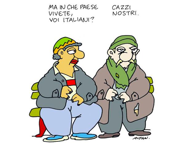 La reazione degli italiani alla notizia di un'Italia ancora bocciata per corruzione