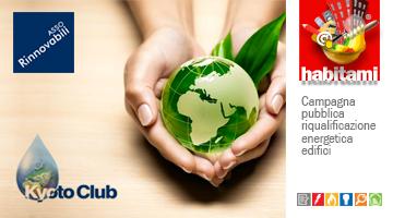 Assorinnovabili e Kyoto Club partner di Habitami dal 2017