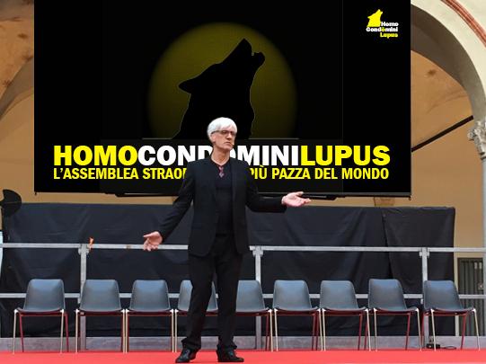 La storia dello spettacolo teatrale Homo Condòmini Lupus