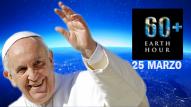 Il 25 Marzo è l'ora della terra e del Papa del Laudato Si'