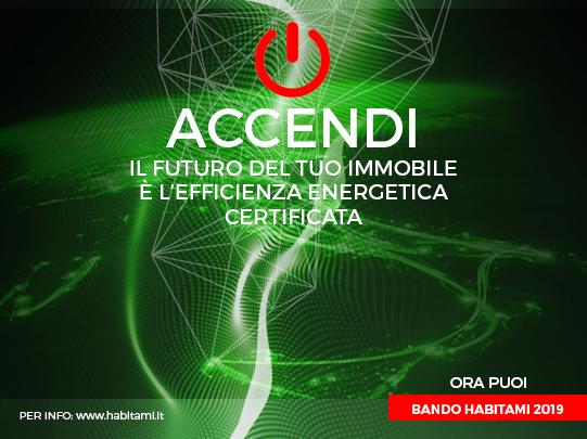 Requisiti Bando Habitami 2019, efficienza energetica certificata in Italia