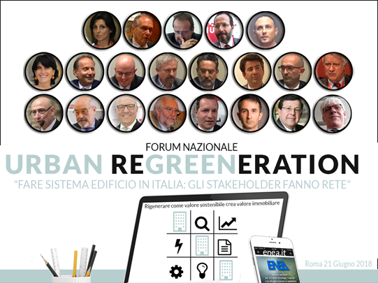 I Protagonisti al Forum Urban Regreeneration a Casa Enea