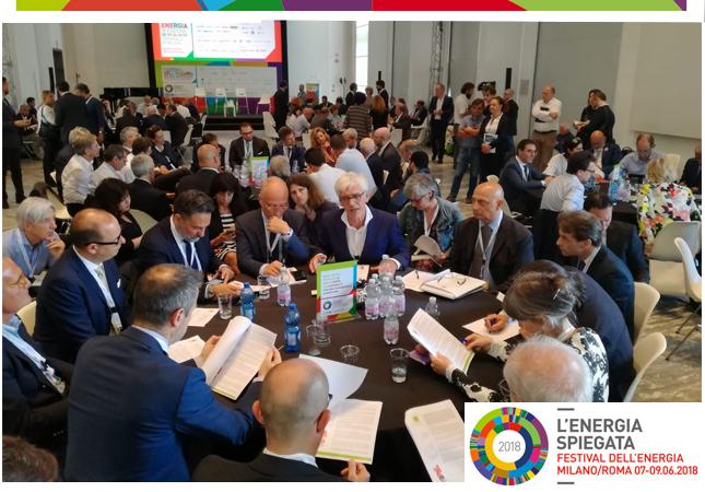 Festival dell'Energia 2018: working group organizzato da Habitami
