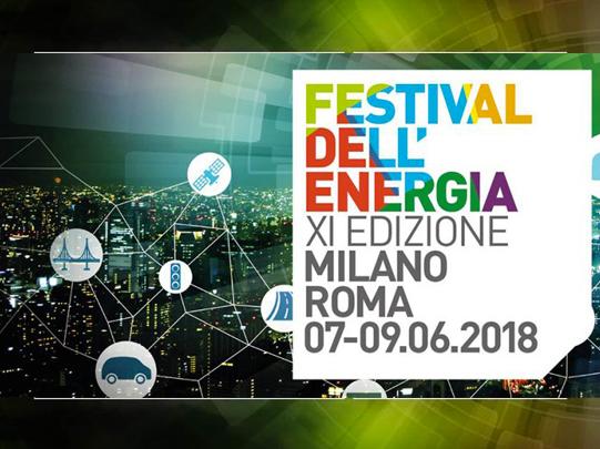Habitami invitata al Festival dell'Energia 2018