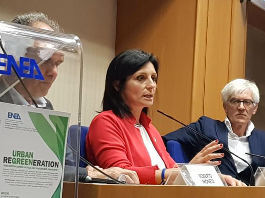 Il Sottosegretario On Vannia Gava interviene a Casa Enea al Forum Urban Regreeneration