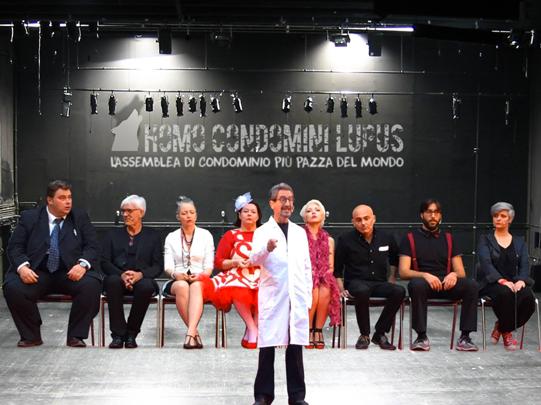 Il Cast 2016 di Homo Condòmini Lupus Show