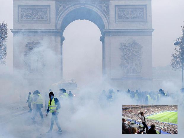 """Più di un milione di cittadini francesi in """"gilet giallo"""" protestano contro le eco tasse"""