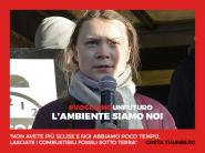 Greta Thunberg, l'ambiente siamo noi e vogliamo un futuro