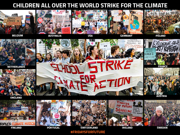 school strike for climate action, fridays for future