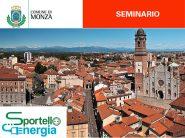 Il Comune di Monza organizza un seminario sull'efficientamento energetico degli edifici