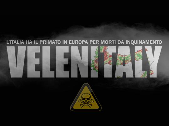 VELENITALY, Il Bel Paese contagiato dall'inquinamento