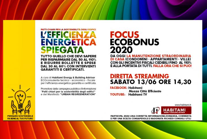 "Diretta Streaming ""L'Efficienza Energetica Spiegata"""