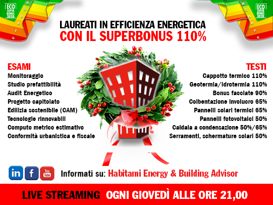 Fare Efficienza Energetica con il Superbonus 110%